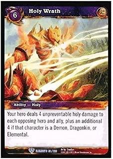 World of Warcraft TCG Holy Wrath