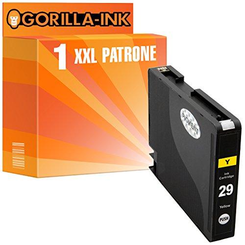Gorilla de Ink 1impresora de tinta XXL compatible para Canon PGI-29Yellow