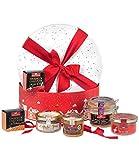 Ducs de Gascogne - Coffret cadeau 'Nuit éternelle' - comprend 6 produits salés - Idée cadeau Noël - 944786
