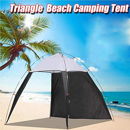 XGZ Beach Tent Outdoors Canopy Beach Shelter Sun Shade Tent for Fishing Camping Travel with Carrying Case,230 x 210 x 160cm