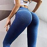 Leggings Pantalones De Yoga para Mujer Leggings Deportivos De Cintura Alta Leggings para El Trasero Scrunch Fitness Sin Costuras Gimnasio Entrenamiento Botín Transpirable