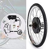 HIRAM 26' 36V 500W Hub Kit di Conversione della Bicicletta Elettrica Conversione Motociclistica Mozzo della Ruota (Ruota Posteriore)