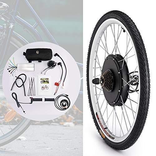 """HIRAM 26"""" 36V 500W Hub Kit di Conversione della Bicicletta Elettrica Conversione Motociclistica Mozzo della Ruota (Ruota Posteriore)"""