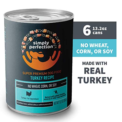 Simply Perfection Super Premium Lid Turkey and Potato Entrée Canned Dog Food
