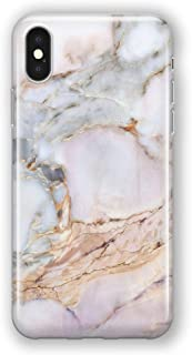 Recover Gemstone Marble iPhone Xs Max Case. Soft Protective Silicone Cover for iPhone Xs Max. (Gemstone)