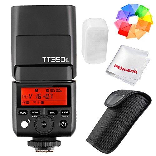 Godox TT350F 2.4G HSS 1/8000s TTL GN36 Camera Flash Speedlite