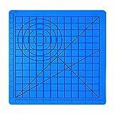 Tapis de silicone pour stylo d'impression 3D, Modèle de dessin avec Basic Multi-Shape Outils de...