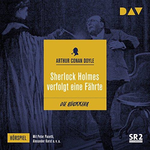 Couverture de Sherlock Holmes verfolgt eine Fährte