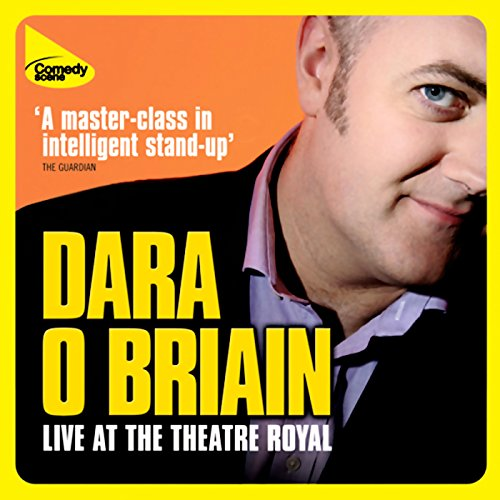 Dara O'Briain Live at the Theatre Royal audiobook cover art
