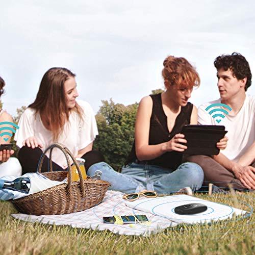TP-Link M7200 mobiler WLAN Router (4G/LTE bis zu 150Mbit/s Download/ 50Mbit/s Upload, Hotspot, Cat6, 2000mAh Akku, kompatibel mit allen europäischen SIM Karten) schwarz