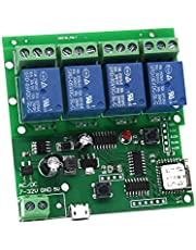 Wifi momentaire relais, zelfveilige schakelmodule, DIY WIFI garagedeur controller (5-32 V)