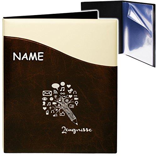 A4 - Zeugnismappe / Dokumentenmappe -