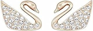 Swan Mini Pierced Earrings 5144289