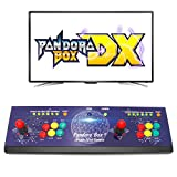 Wisamic Real Pandora's Box DX Arcade Game Console: Up to 4 Players, Save Games Progress, Accurate Game Searching, Add Additional Games, Support PS3 PC TV, No Games Included (6 Buttons)