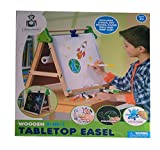 Tabletop Discovery Easel Chalkboard and Whiteboard Activity Toys for Kids