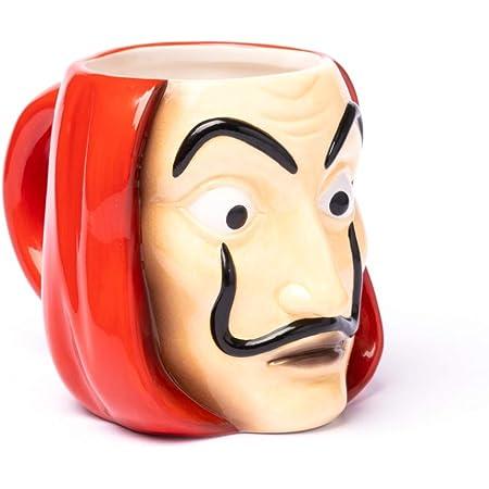 Grupo Erik Mug 3D La Casa de Papel 100% Officiel | Tasse en Céramique | 330ml
