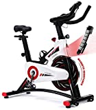 Exercise Bike, CHAOKE Indoor Cycling Bike Stationary, Spin Bike for Home Cardio Workout with Whisper Quiet Magnetic Brake System, Comfortable Seat Cushion & Heavy Flywheel, Digital Monitor Included (2020 Upgraded)