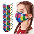 ?USA in Stock Fast Delivery? Students Reusable Adjustable Size Face_Mask Covering Cotton Bandana for Children ????????????????