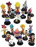 Cabilock 20 Unus / Lot 4-9 Cm Dragon Ball Z Figuras Son Goku végéta Super Saiyan God Hercule Frieza Buu Beerus WHIS Anime DBZ modèle poupées
