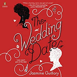 The Wedding Date                   By:                                                                                                                                 Jasmine Guillory                               Narrated by:                                                                                                                                 Janina Edwards                      Length: 8 hrs and 28 mins     1,002 ratings     Overall 4.0