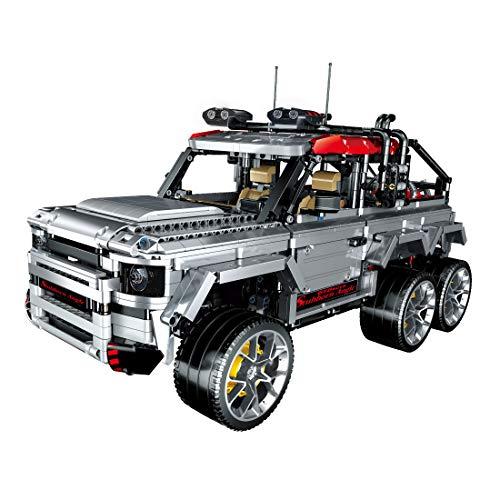 ColiCor Technic Offroad Truck 3082 piezas escala 1:10 Technic 6x6 Set de construcción de coche todoterreno para Land Rover Defender, Bloques de construcción Technic compatibles con Lego Technic