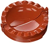 """Pizzacraft PC0405 Small: 3.9"""" x 6.9"""" x 2.8"""" Calzone Filling and Forming Press, Personal Size"""
