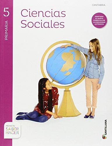 CIENCIAS SOCIALES + ATLAS CANTABRIA 5 PRIMARIA SANTILLANA - 9788468023861