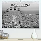 Barcelona Schwarz / Weiß Impressionen (Premium, hochwertiger DIN A2 Wandkalender 2022, Kunstdruck in Hochglanz): Fantastische Impressionen in schwarz ... Stadt Barcelona (Monatskalender, 14 Seiten )