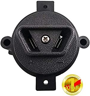 Crow Foot 2 Prong, Powerwise Connector DC Plug+Receptacle for E-Way, Yamaha 36V Electric Golf Cart Parts