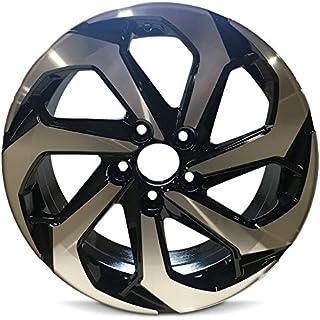 Road Ready Car Wheel For 2016-2017 Honda Accord 17 Inch 5 Lug Black Machine Face (Diamond Cut) Aluminum Rim Fits R17 Tire - Exact OEM Replacement - Full-Size Spare