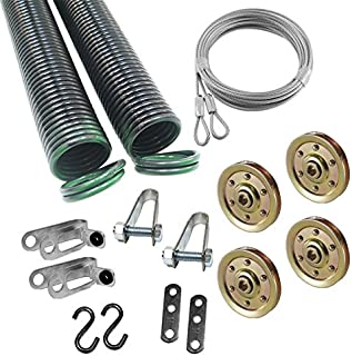 Garage Door Extension Spring for 7' High Door, 120 Pounds 25 42 120 Coded Green ( Pair )