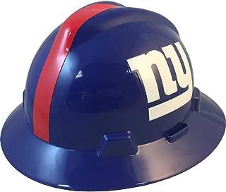 NFL V-Gard Full Brim Hard Hat, New York Giants