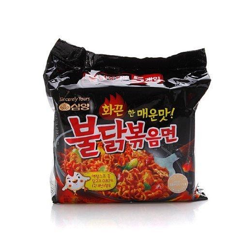 Samyang Ramen / Spicy Chicken geröstete Nudeln, 20 Stück