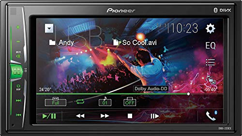 Pioneer DMH-220EX Digital Multimedia Receiver with 6.2' WVGA Display (DMH220EX)