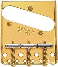 fender telecaster bridge gold