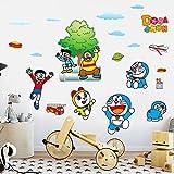 Pegatinas de dibujos animados para pared de niño o habitación de los niños, autoadhesivas, para...