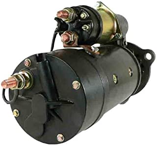 Complete Tractor Starter 1100-0134 for Ford New Holland 2100 Forage Harvester, 2115 Forage Harvester, TJ375, TJ425, TJ450 107717A3 140855A3 140855A3R 87409259 87409260 87409408
