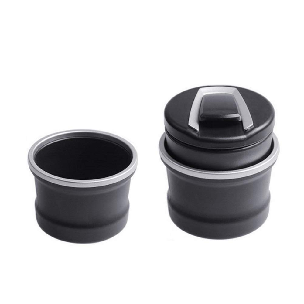LUYANhapy9 Car Interior Accessories Portable Auto Car Truck LED Smoke Ashtray Ash Cylinder Cup Holder Car Decoration Gift