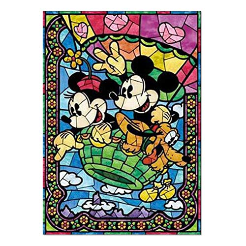 SuperDecor 5D Diamond Painting Kits Full Drill Diamond Embroidery Painting Art DIY by Number Two Cute Mice Story for Home Wall Decor