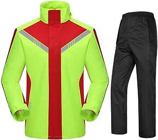 Qivor Waterproof clothing Raincoat Rain Pants Suit, Split Fashion Outdoor Raincoat, Unisex, Suitable For Riding Waterproof...