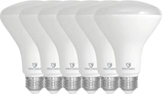 Warm White 6 Pack Bedrooms Wide Flood Bulb Non-Dimmable 2700K Hallways Great for Kitchen Hyperselect BR30 LED Light Bulb 50W-65W Equivalent UL Listed E26 Base 600 lm 10W
