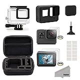 Kupton Accessori Kit per GoPro Hero7 Black/2018/6/5 Black Custodia Piccola da Viaggio+Custodia per...
