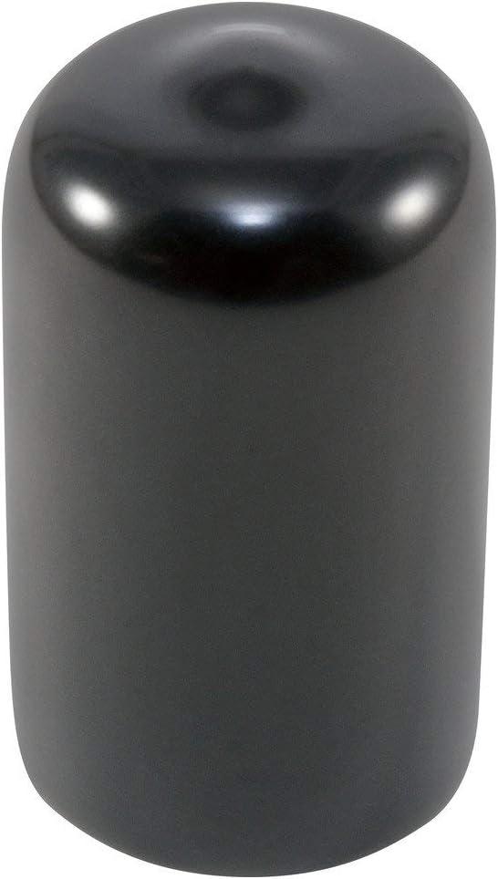 30 mm ID Round End Cap Cover Noir Tube Caps 5pcs Pas de vis Protecteurs