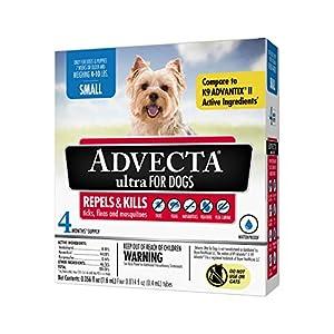 Advecta Ultra Flea & Tick Topical Treatment, Flea & Tick Control for Dogs
