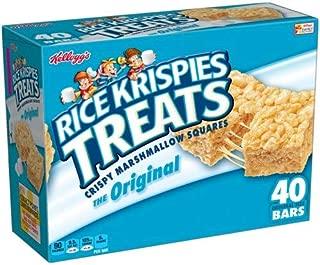 Rice Krispies the Original Treats Crispy Marshmallow Cereal Bars (Pack of 20)