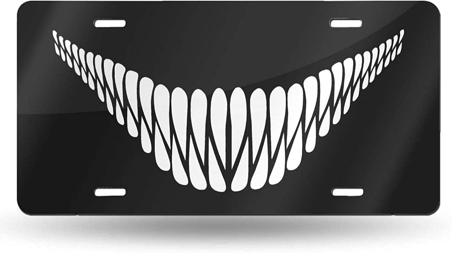 Hopes's Monster Teeth Front Cash special price License Ca Plate Covers Auto Finally popular brand Novelty