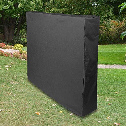 MorNon Schutzhülle Abdeckhaube Abdeckung Plane für Tischtennisplatte Hülle Haube für Outdoor 160x145x30cm