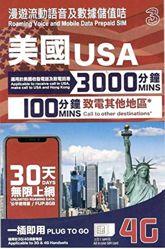 (AT&T) USA 30 Days 4G LTE Unlimited Mobile Data Prepaid Sim Card