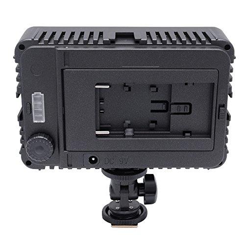Mcoplus® - 130 LED Ultra High Power Panel Digital Camera / Camcorder Video Light, LED per Canon, Nikon, Pentax, Panasonic,Sony, Samsung and Olympus Digital SLR Cameras