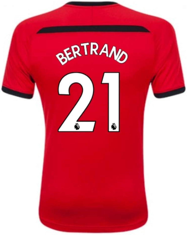 2018-2019 Southampton Home Football Shirt (Bertrand 21)